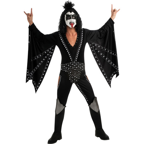 KISS The Demon Deluxe Adult Halloween Costume