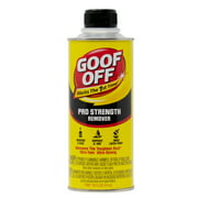 Goof Off Professional Strength Latex Paint and Adhesive Remover, 16 fl. oz.