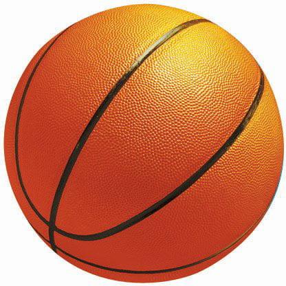 Basketball Cutouts (Amscan - Basketball-Shaped 10