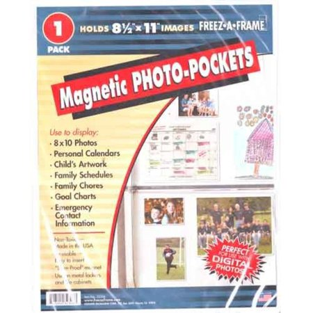 Freez-A-Frame Magnetic 8.5-Inch x 11-Inch Photo Frame](Magnetic Photo Frame)