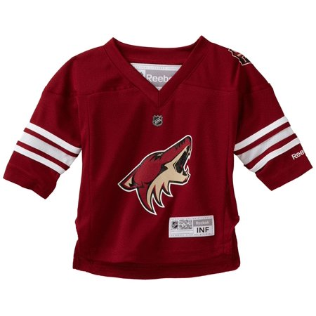 NHL Infant Phoenix Coyotes Team Color Replica Jersey - R52Hwbxx (Maroon, 12-24 Months)
