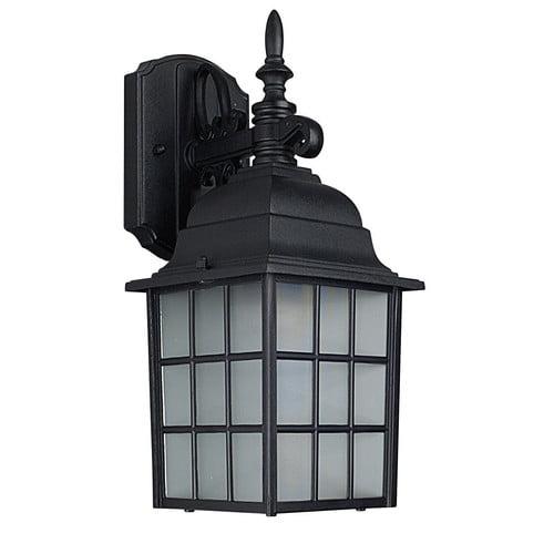 Charlton Home Brasfield 1-Light Outdoor Wall Lantern
