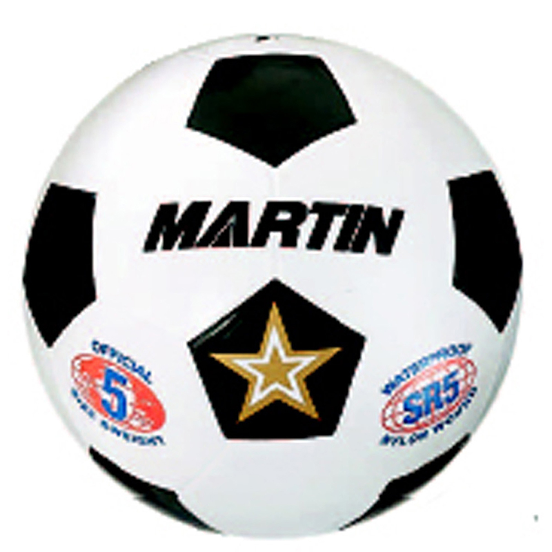 SOCCER BALL WHITE SIZE 4 RUBBER NYLON WOUND
