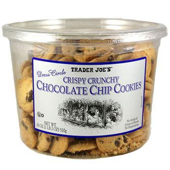 Trader Joe's Crispy Crunchy Chocolate Chip Cookies 1 Pack, 18 Oz