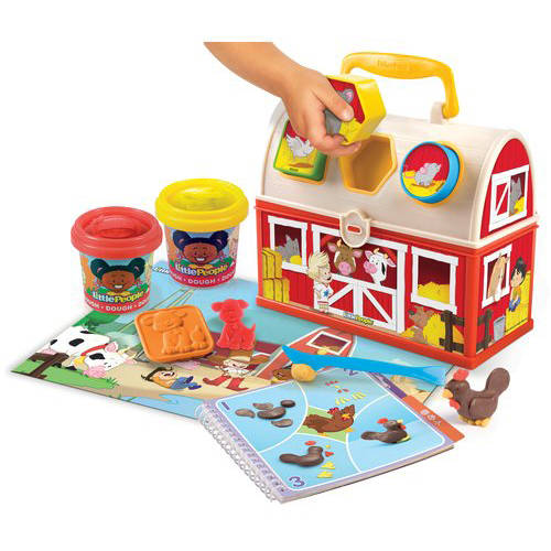 Fisher Price Little People Dough Farm Tool Case by Little People
