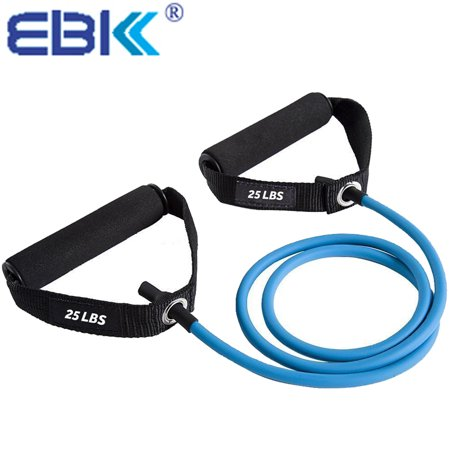 Durable Exercise Resistance Bands 100% Safety Strength Workout Bands with  Comfort Handles for Gym,Yoga,Stretching,Physical Therapy,Strength Training
