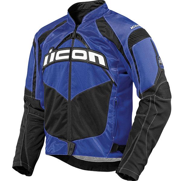 Icon Contra Mens Textile Jacket Blue