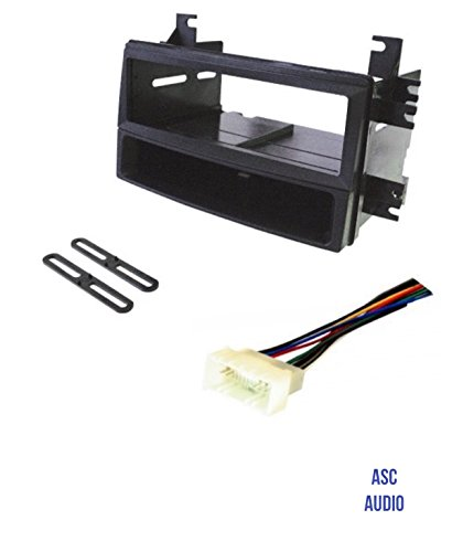 asc car stereo install dash kit and wire harness for installing an rh walmart com Car Stereo Wiring Harness Stereo Wiring Harness Color Codes
