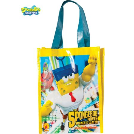 Spongebob Treats (SpongeBob Movie Canvas Trick Or Treat Bag )