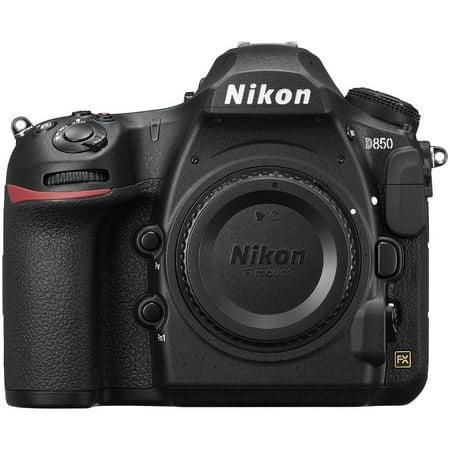 Nikon D850 DSLR Camera in Black (Body Only)