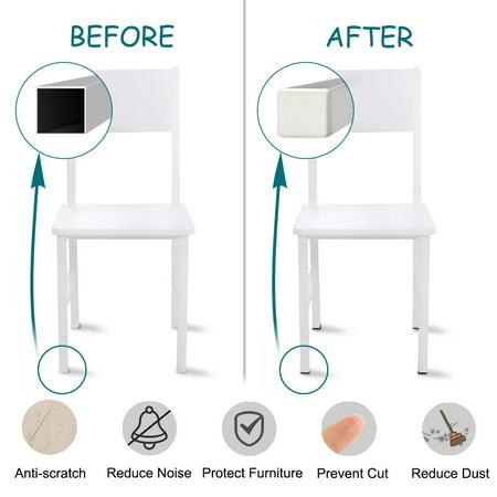 15 x 15mm Plastic Square End Tube Inserts Furniture Feet Floor Protector 19pcs - image 3 de 7