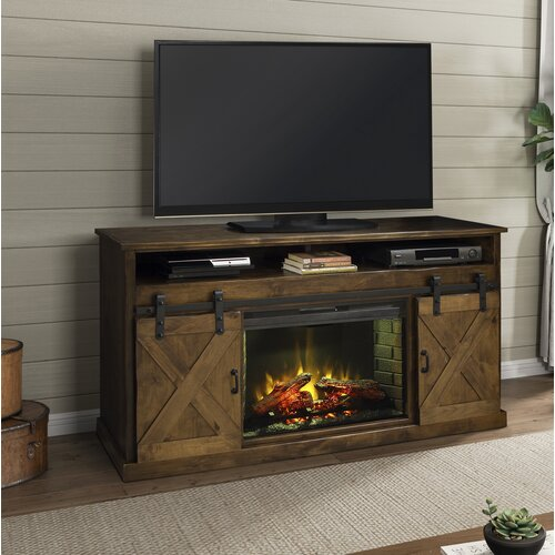 Loon Peak Pullman Tv Stand For Tvs Up To 65 With Electric