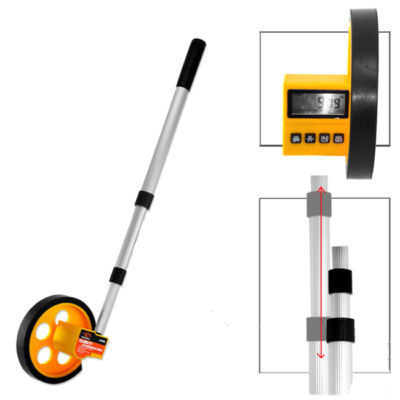 LCD Digital Walking Rolling Tape Measure Wheel