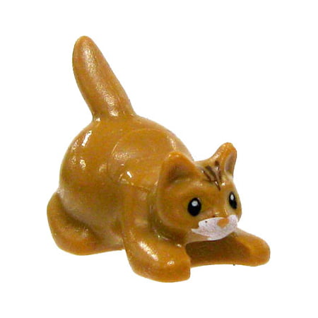 Lenox Kitty Cat (LEGO City Light Brown Cat [Painted Face] )