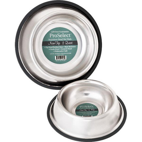 Proselect Xsuper Hvy Notip Mirror Bowls 96oz