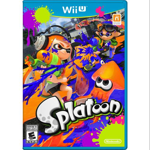 Nintendo Splatoon - Third Person Shooter - Wii U (wuppagme)