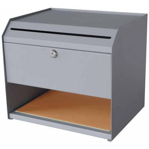 Sandusky Buddy Steel Suggestion Box with Storage