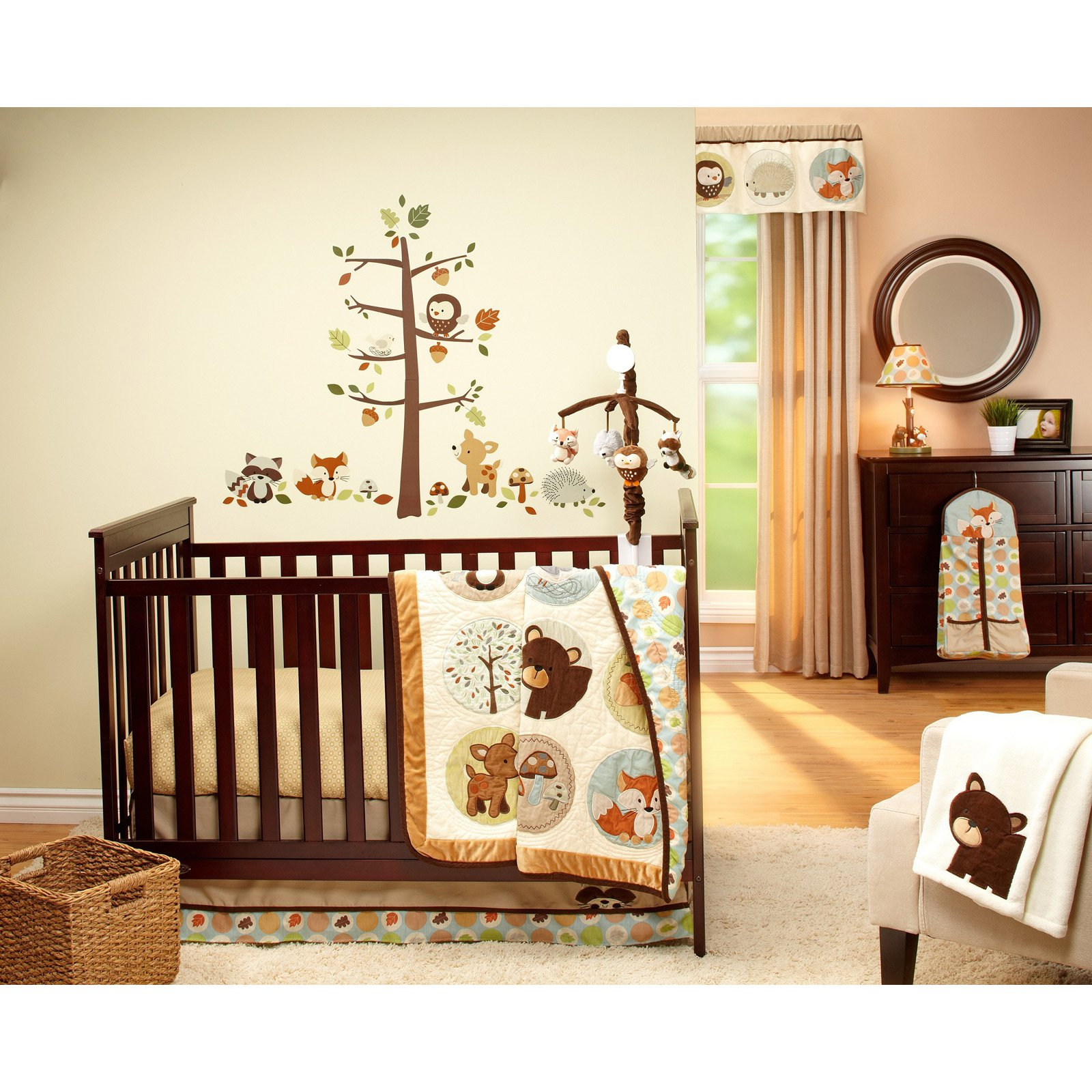 Carter's Friends 4 Piece Bedding Set with Diaper Stacker