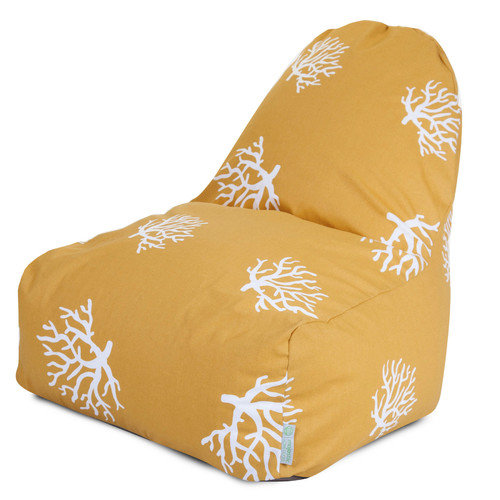Majestic Home Goods Coral Bean Bag Lounger