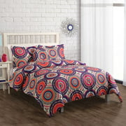 Nina Boho Bedding Comforter Set, Orange