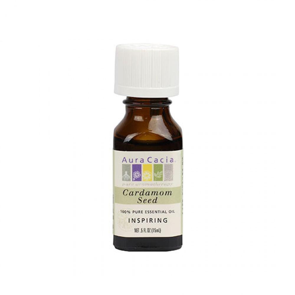 Essential Oil Cardamom Seed Aura Cacia 0.5 oz EssOil