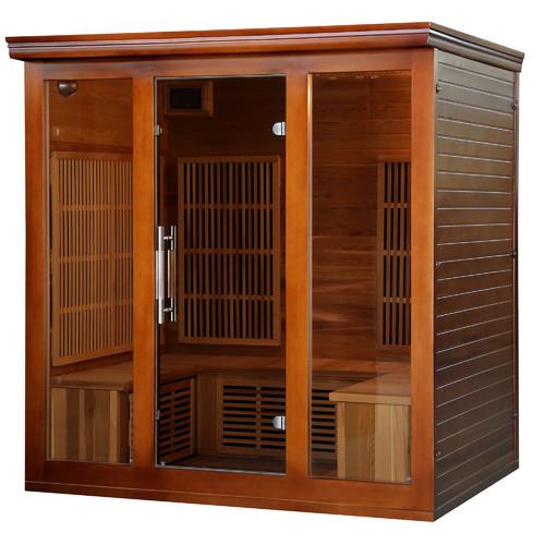 Radiant Saunas Premium Elite 5 Person FAR Infrared Sauna