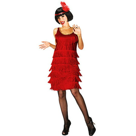 Flapper Halloween (20's Flapper Adult Halloween)