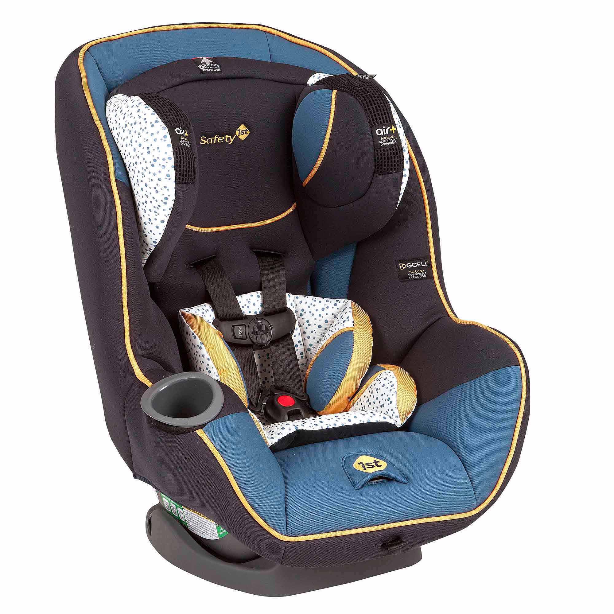 Safety 1st Advance Convertible Car Seat, SE 65 Air+, Twist of Citrus