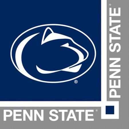 240 NCAA Penn State Nittany Lions 2-Ply Tailgating Party Beverage Napkins - Penn State Party Supplies