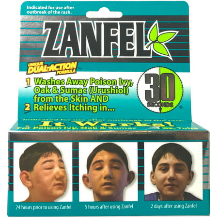 2 Pack - Zanfel Wash For Poison Ivy, Oak & Sumac (Urushiol) 1