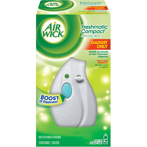 Air Wick Freshmatic Compact Automatic Air Freshener Spray Gadget, 1 ct