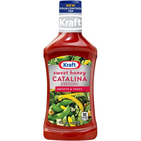 Kraft Salad Dressing: Dressing Sweet Honey Catalina, 16 oz