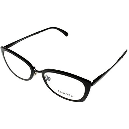 CHANEL - Chanel Prescription Eyewear Frames Womens Oval Black CH2171 ...