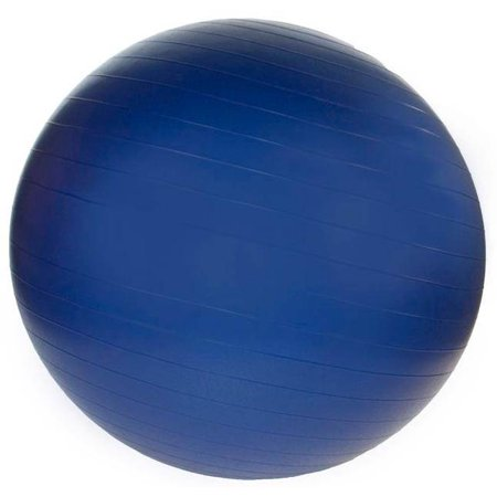 85 cm. Professional Exercise Ball w Pump in Navy Blue