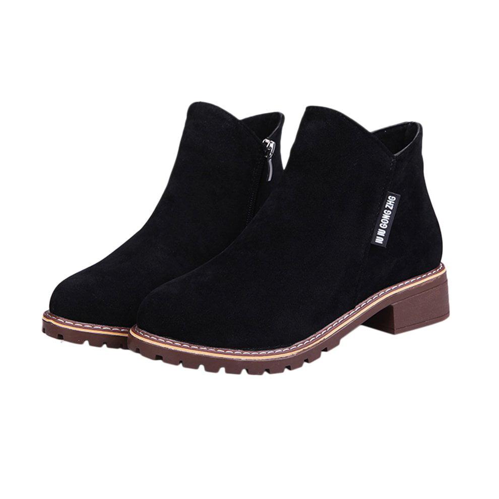HC-TOP Women Ankle Boots Short Martin