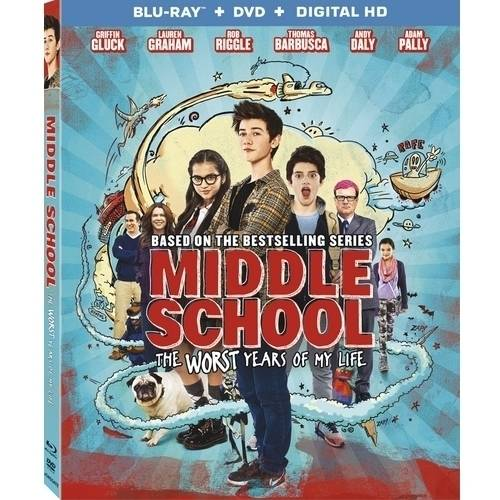 Middle School: The Worst Years Of My Life (Blu-ray + DVD + Digital HD) (Widescreen) LGEBR51001