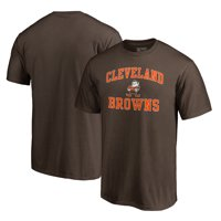 Cleveland Browns NFL Pro Line by Fanatics Branded Vintage Collection Victory Arch T-Shirt - Brown