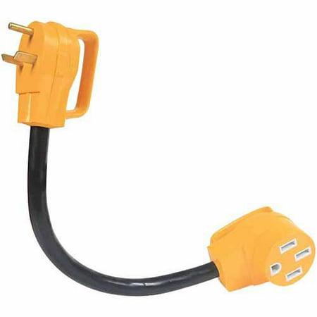 Camco Rv 18   Powergrip Dog Bone Electrical Adapter