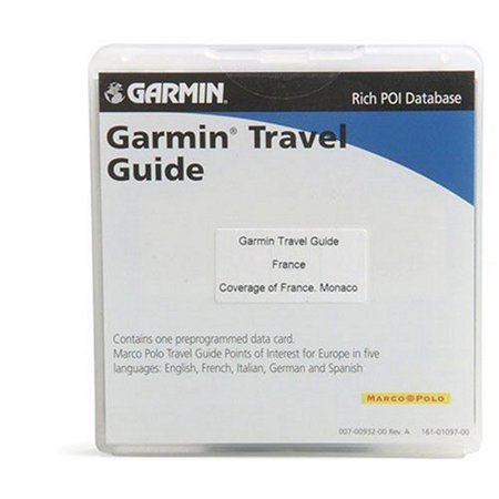 Garmin Travel Guide France - GPS software - for nvi 20X, 25X, 26X, 27X, 300, 310, 350, 360, 370, 500, 510, 550, zumo 550,