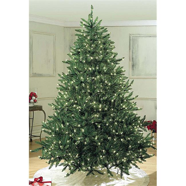 Queens of Christmas WL-TRSQ-18-LPW 18 ft. Pre Lit LED Pure White Sequoia Tree