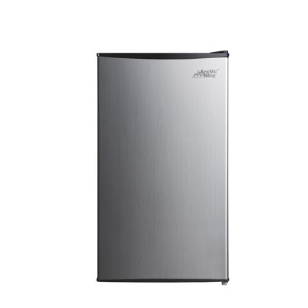 Arctic king 3.3 Cu Ft Single Door Mini Fridge, Stainless - Custom Fridge