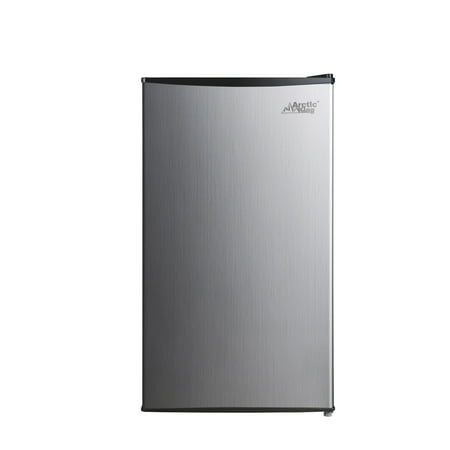Arctic king 3.3 Cu Ft Single Door Mini Fridge, Stainless