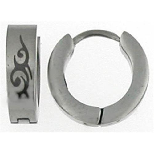 Doma Jewellery MAS02814 Stainless Steel Huggy Earring