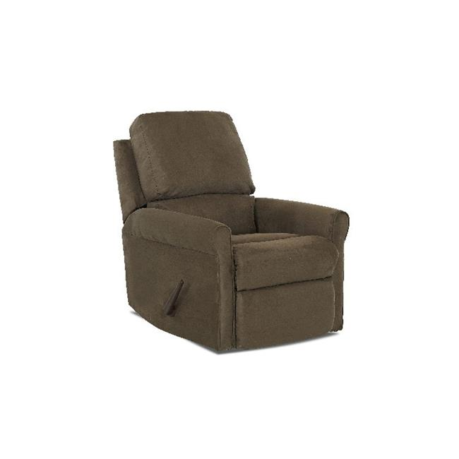 Furniture 12013371138 37 x 28 x 37 in. Baja Reclining Rocking Chair, Thym by Klaussner
