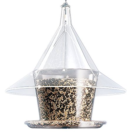 Innovative Squirrel Proof & Rain Proof 360 Sky Cafe Wild Bird Feeder by Arundale Arundale Sky Cafe Feeder