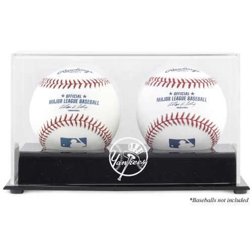 New York Yankees Fanatics Authentic Deluxe Two Baseball Cube Logo Display Case - No Size