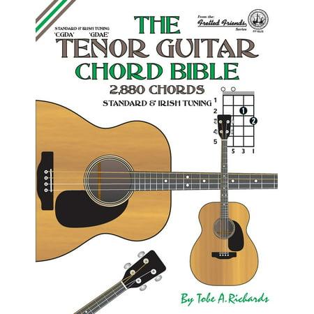 The Tenor Guitar Chord Bible Paperback Walmart