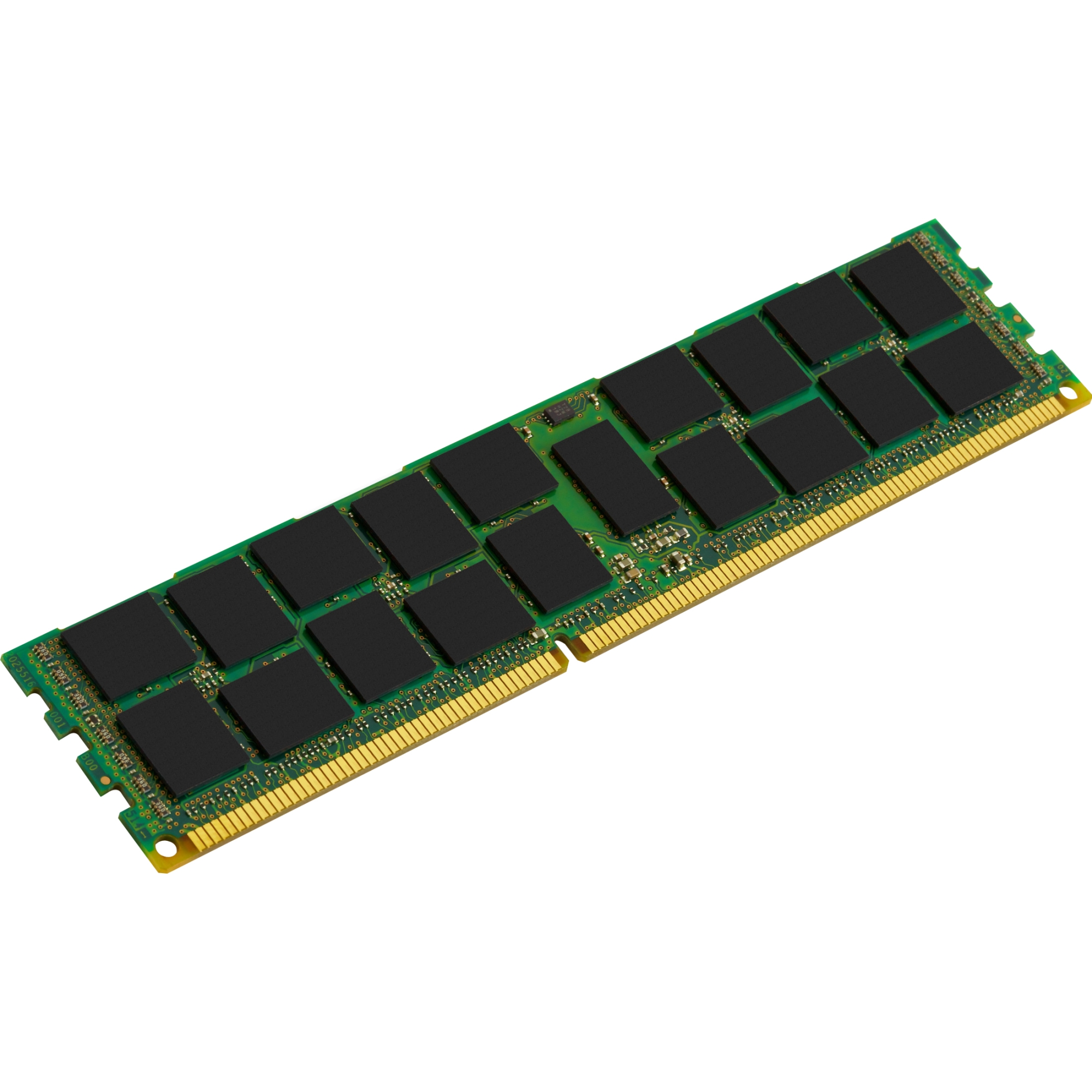 Kingston 16GB 1600MHz Reg ECC Low Voltage Module - 16 GB (1 x 16 GB) - DDR3 SDRAM - 1600 MHz DDR3-1600/PC3-12800 - ECC