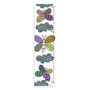 Green Leaf Art YS0813CG 10 x 39 Butterflies & Clouds Growth Chart