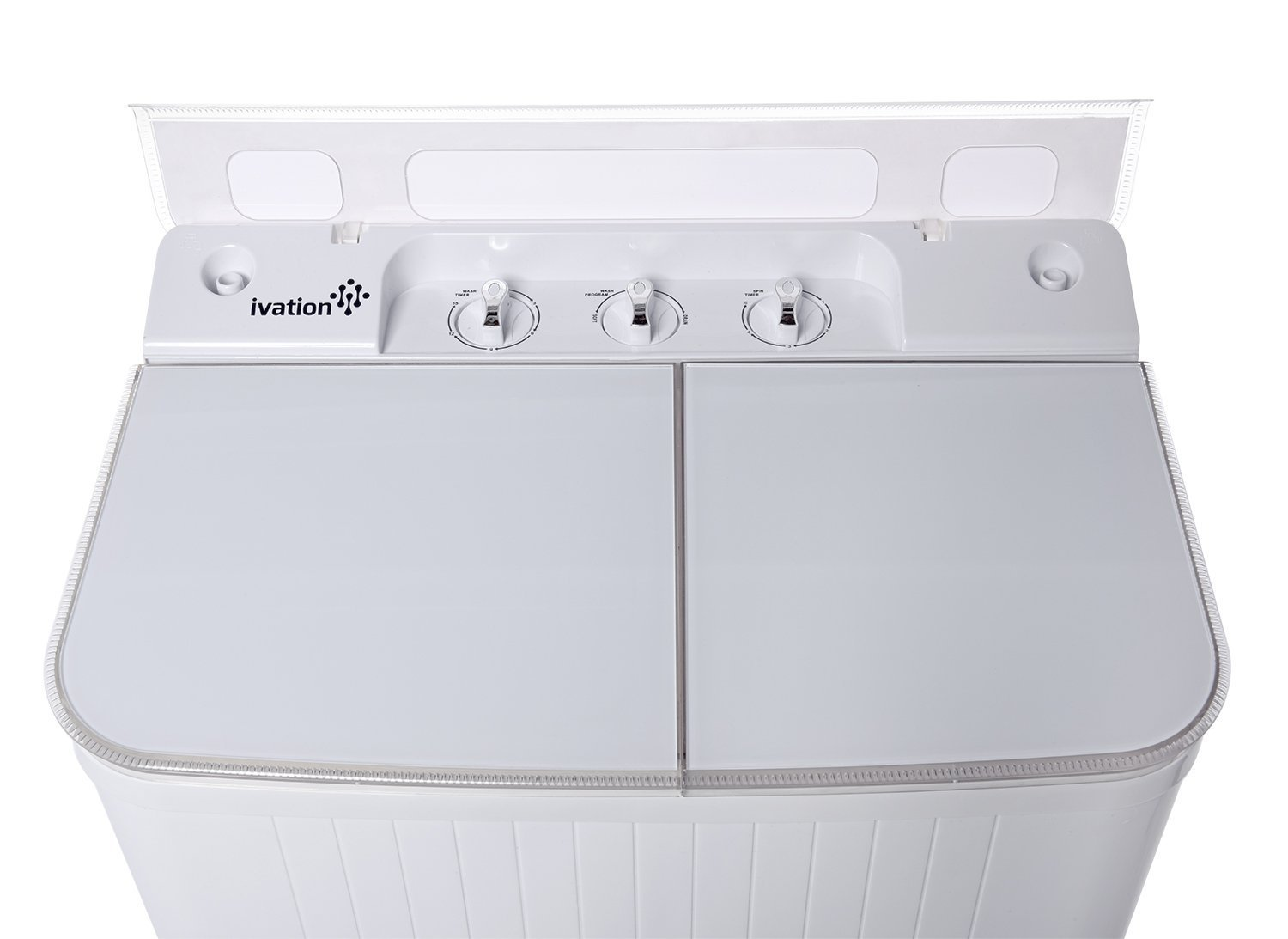 Ivation Small Compact Portable Washing Machine U2013 Twin Tub Washer U0026 Spin  With 8 Lb.